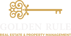Golden Rule Real Estate & Property Management in Gainesville, Florida logo.